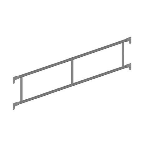 Stahl-Doppelgeländer quadro