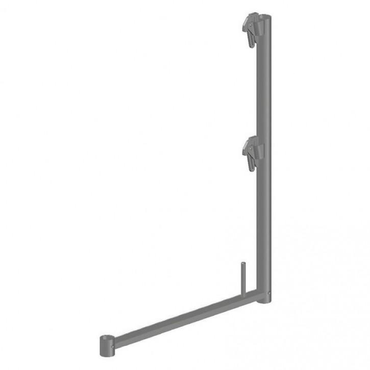 Alu-Geländerstütze quadro