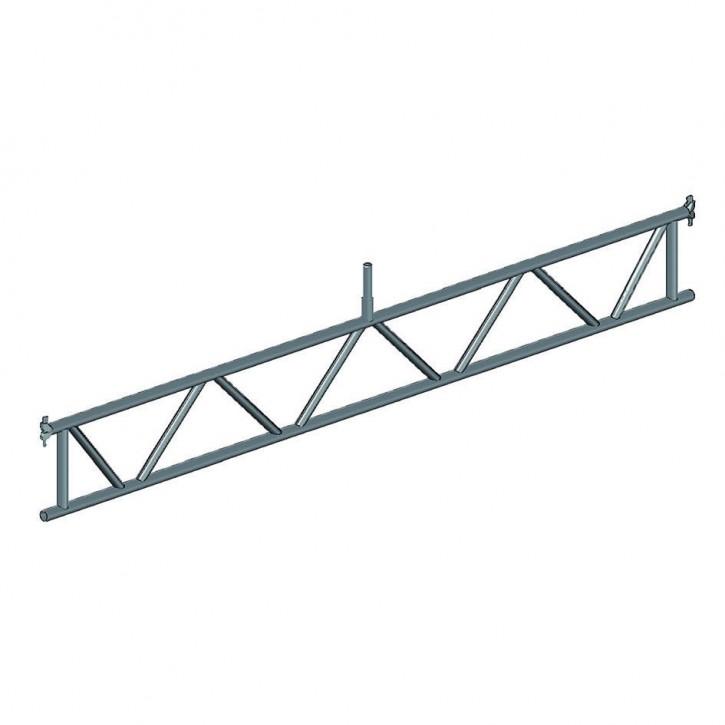 Stahl-Überbrückungsträger futuro H40, Rohr-Auflage