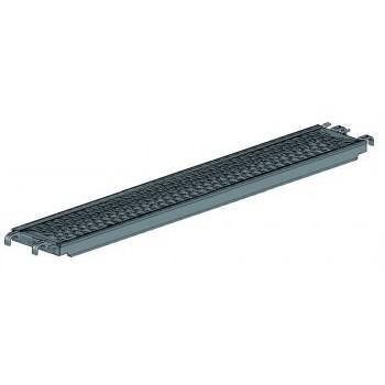 Stahlboden B32, Rohr-Auflage 7,6 H x 307 L