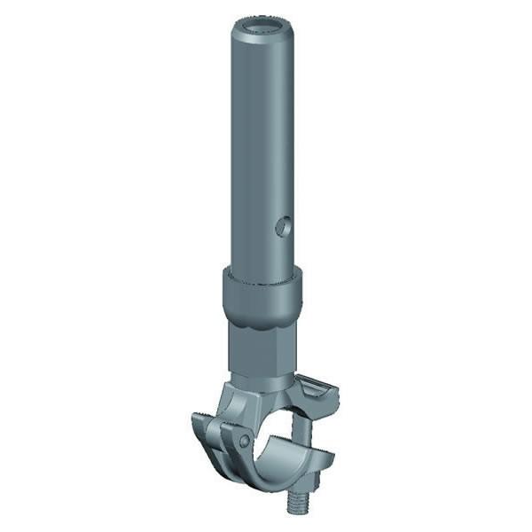 Rohrverbinder mit Halbkupplung 30 L