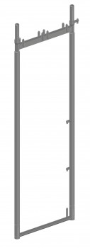 Stahl-Vertikalrahmen SL B74 light