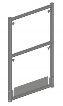 Stahl-Stirnseiten-Geländerrahmen SL für einreihiges Fahrgerüst 74 B