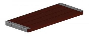 Holzboden SL für Versatzkonsole