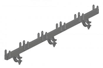 Stahl-Belagtraverse SL für Gitterträger