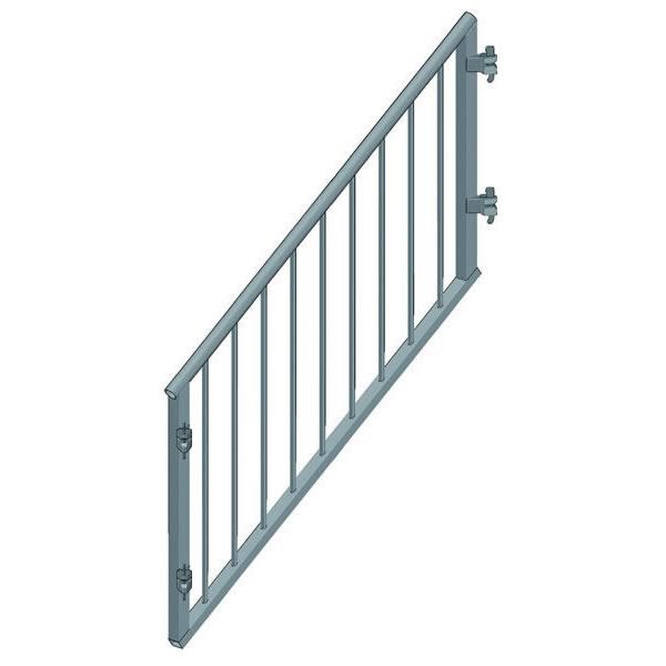 Treppengelander Kindersicher Fur Treppenwange Stufen B27 100 H X 150 L