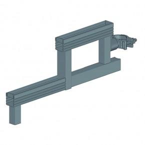 Stufenkonsole, Rohr-Auflage 30 H x 60 B