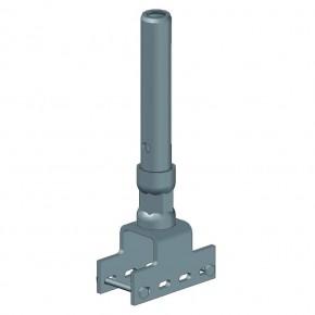 Rohrverbinder für U-Gitterträger