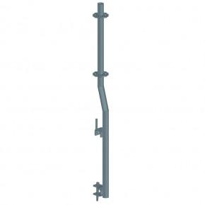 Geländerstiel für Sicherheitstor