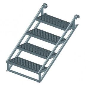 Stahl-Bautreppe H100